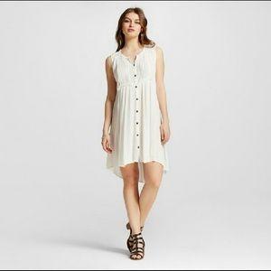 Xhilaration white collection ivory dress